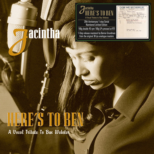 440)Jacintha - Here's to Ben: A Vocal Tribute to Ben Webster (One-Step 180g 45rpm 2LP)