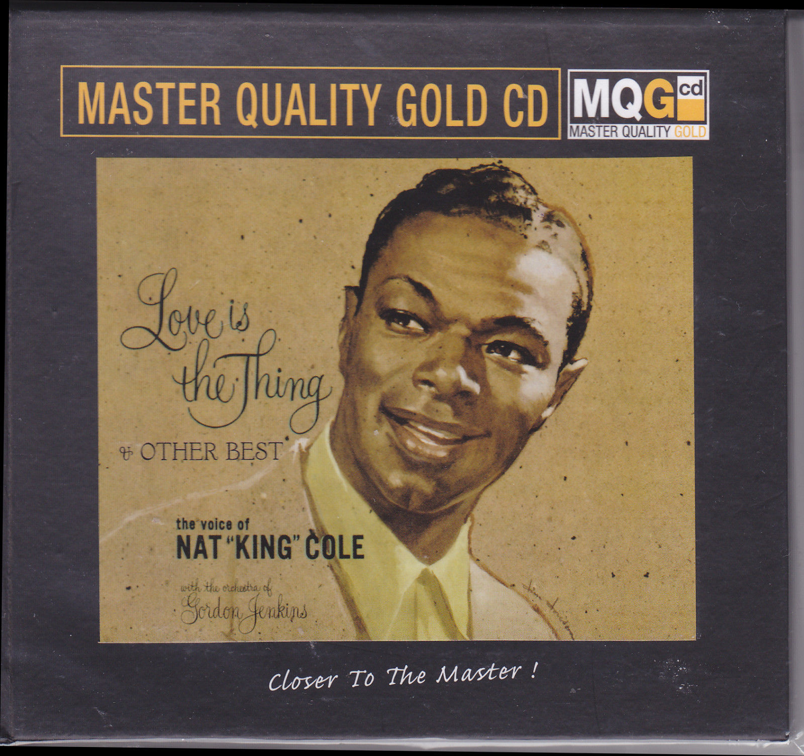 407)Nat King Cole - Love is the Thing & Other Best (MQGCD)