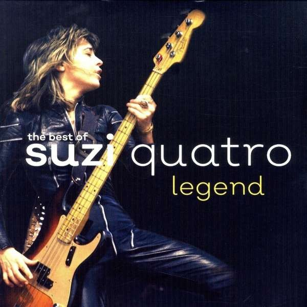 229)Suzi Quatro - Legend: The Best Of (GOLD Vinyl 2LP)