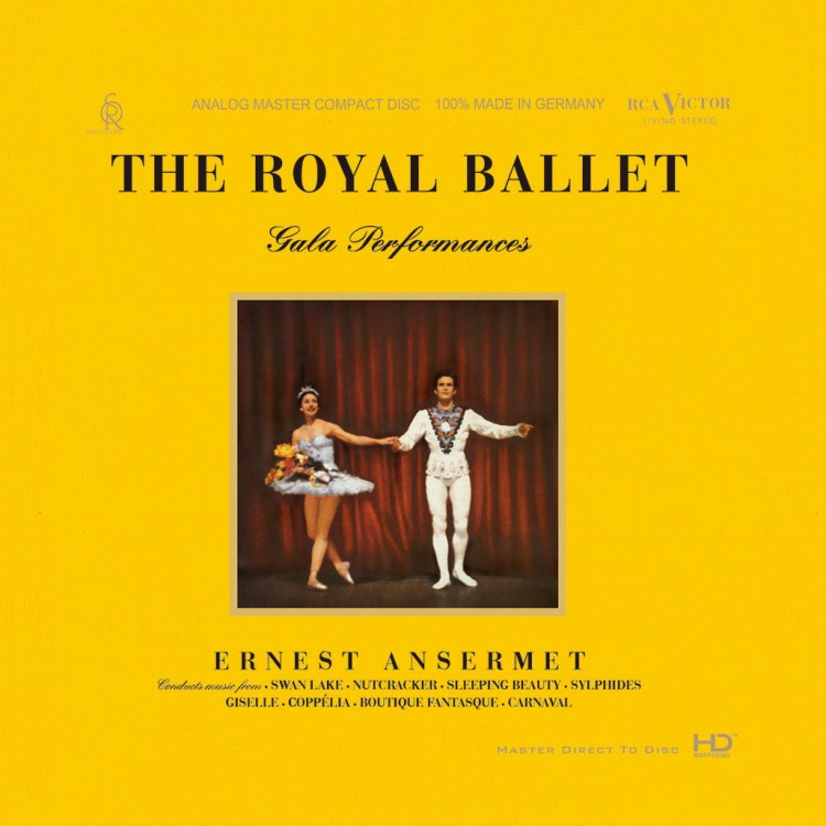 549)Ernest Ansermet & Royal Opera House Orchestra - The Royal Ballet (Deluxe Edition) (HD-Mastering 2CD)