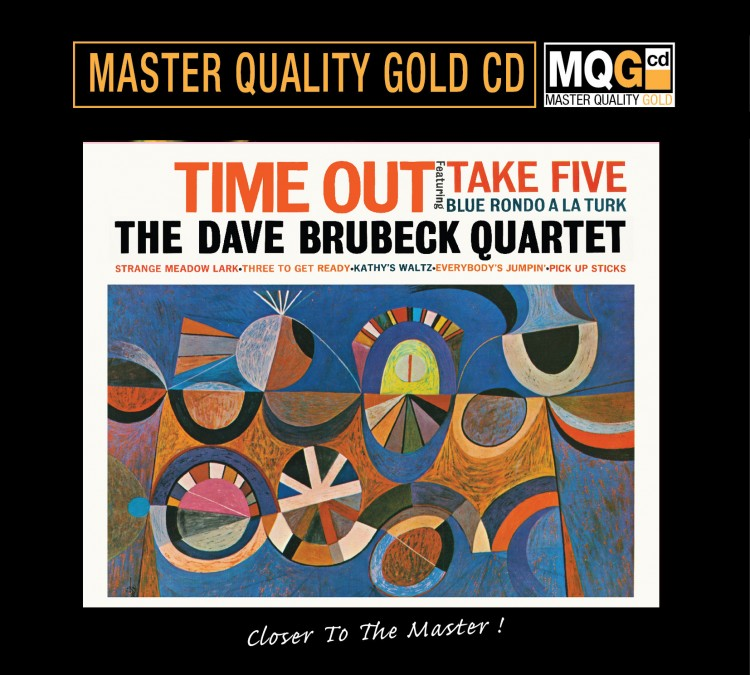 409)The Dave Brubeck Quartet - Time Out (MQGCD)
