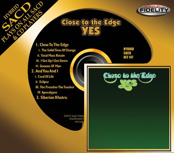 523)Yes - Close To The Edge (Hybrid SACD)