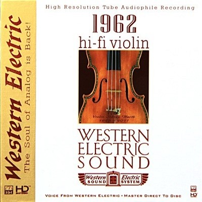 85)Various Artists - Western Electric Sound—Hi-Fi Violin (HD-Mastering CD)