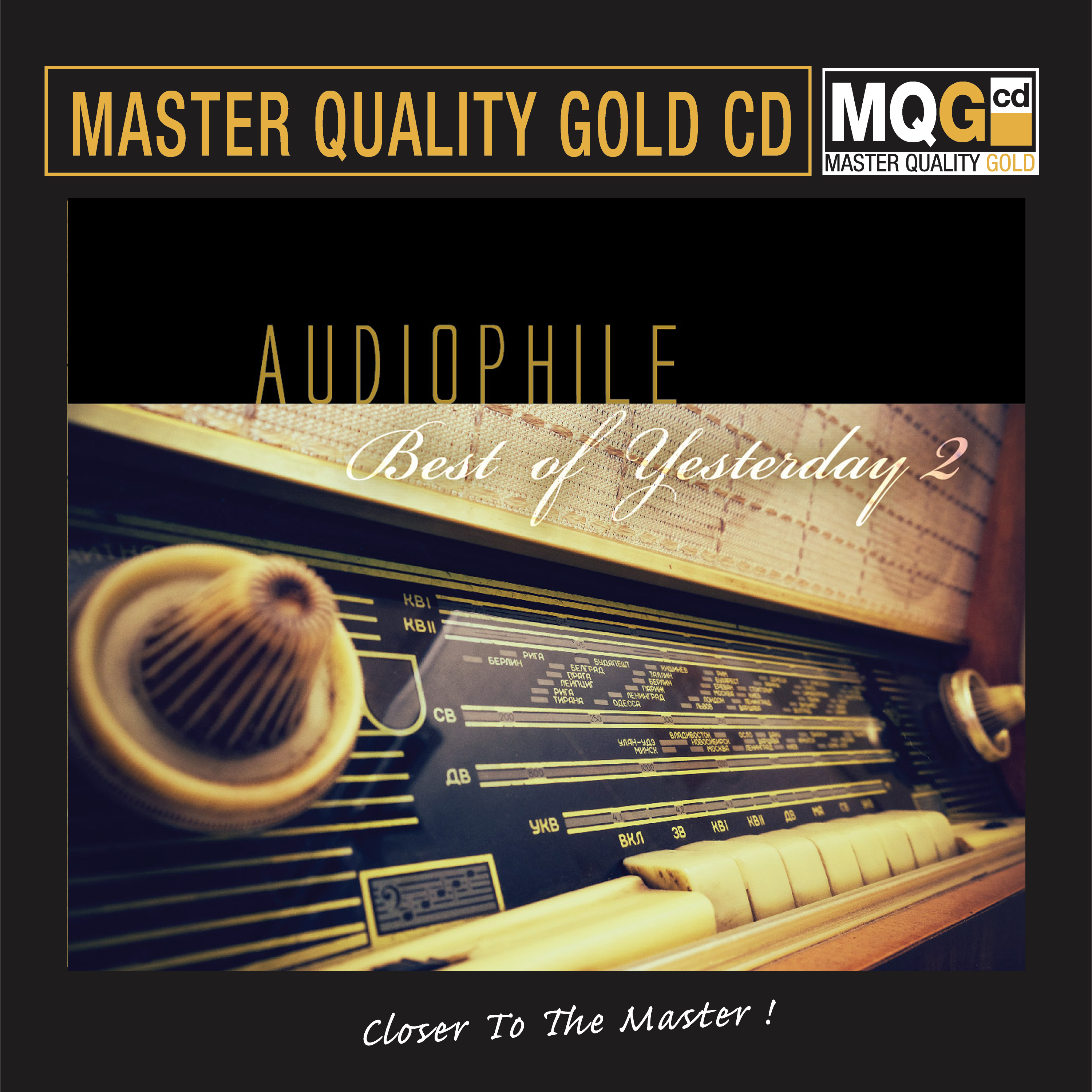 557)Various Artists - Audiophile Best Of Yesterday Vol.2 (MQGCD)
