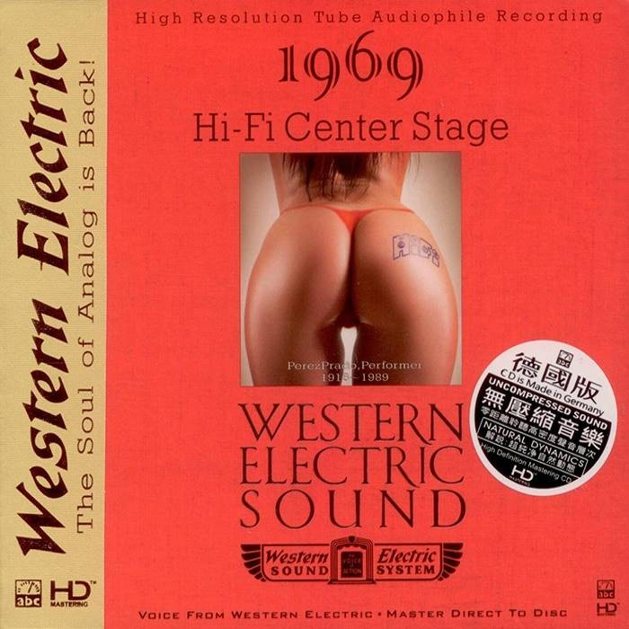 546)Various Artists - Western Electric Sound—Hi-Fi Center Stage (HD-Mastering CD)