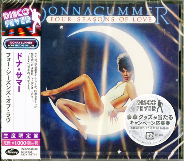 372)Donna Summer - Four Seasons Of Love (Disco Fever 40) (Japan CD)