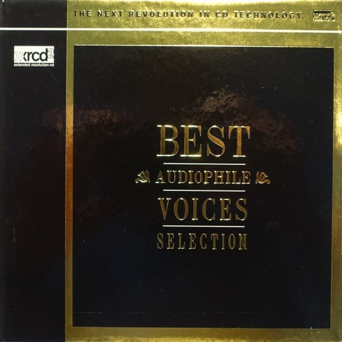 132)Various Artists - Best Audiophile Voices Selection (XRCD2)