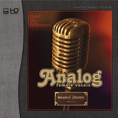 542)Various Artists - Analog Female Vocals (HD-Mastering CD)