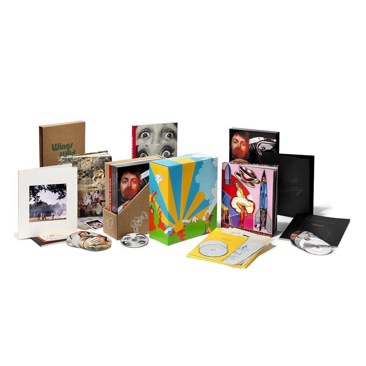 619)Paul McCartney and Wings - WINGS 1971-73 (7 SHM-CD + 3DVD + Blu-ray / Super Deluxe Edition)