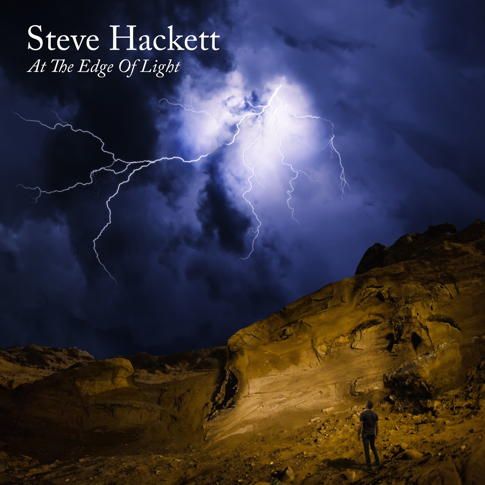 809)Steve Hackett - At The Edge Of Light (180g 2LP+CD) 2019